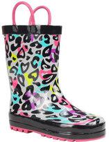 Western Chief Girls' Groovy Leopard Rain Boot
