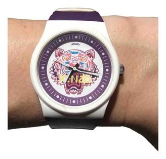Kenzo Purple Steel Watches