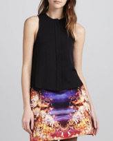 McQ by Alexander McQueen Sleeveless Button-Front Top