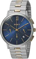 DKNY Women's 'Willoughby' Quartz Stainless Steel Casual Watch, Color:-Toned (Model: NY2542)