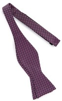 Men's Calibrate One Way Geometric Silk Bow Tie