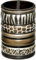 Asstd National Brand Safari Stripes Toothbrush Holder