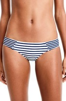 J.Crew Women's Stripe Surf Bikini Bottoms
