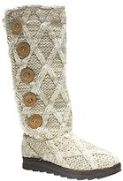 Muk Luks Women's Malena Lattic Sweater Winter Boot