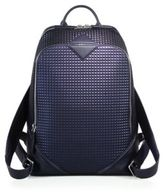 MCM Textured Leather Backpack