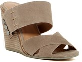 Kelsi Dagger Morten Crisscross Wedge Sandal