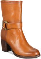 Frye Women's Addie Harness Mid-Shaft Boots