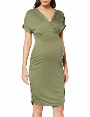 Mama Licious Mamalicious Women's Mlpilar S/s Jersey Abk Dress V