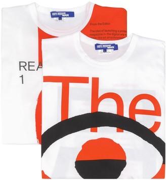 Junya Watanabe slogan graphic print T-shirt
