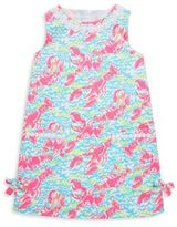 Lilly Pulitzer Toddler's, Little Girl's & Girl's Lilly Girl's Lobster Print Cotton Dress