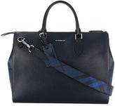 Burberry house check briefcase