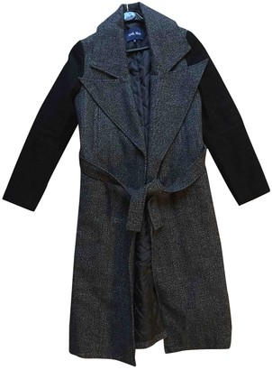 April May Anthracite Wool Coat for Women