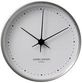 Georg Jensen Henning Koppel Clock - Steel/White - 15cm