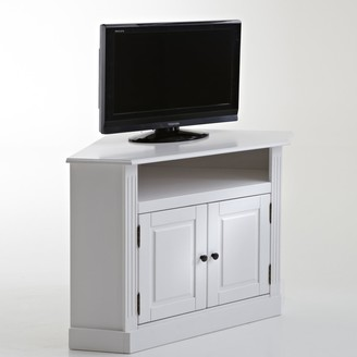 La Redoute Interieurs Authentic Style Pine Corner TV Stand