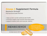 MenScience Menscience Omega 3 Supplements 60 caps