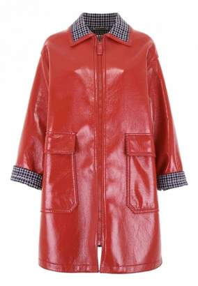 Bottega Veneta Red Cotton Coat for Women