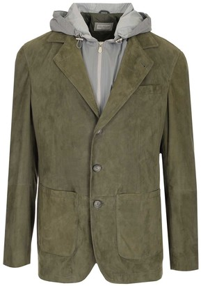 Brunello Cucinelli Hooded Layered Jacket