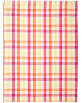 Sur La Table Pink Small-Check Kitchen Towel