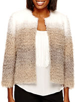A.N.A a.n.a Ombr Faux-Fur Jacket- Petite