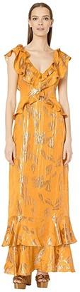 Rachel Zoe Geovana (Marigold) Women's Dress