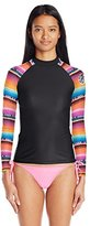 Rip Curl Women's Wetty Long-Sleeve UV Rashguard Top