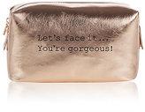 M&S Collection Rose Gold Make Up Bag