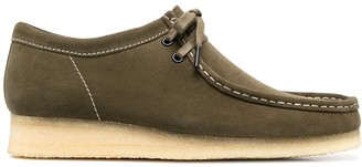 Clarks Maple Wallabee lace-up shoes