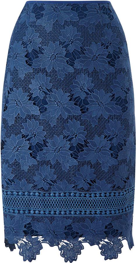 Jacques Vert Lovely Lace Border Skirt
