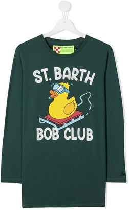 Mc2 Saint Barth Kids TEEN rubber duck graphic sweatshirt