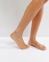 Pieces Metal Fringe Anklet