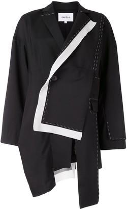 Enfold Wrap-Style Jacket