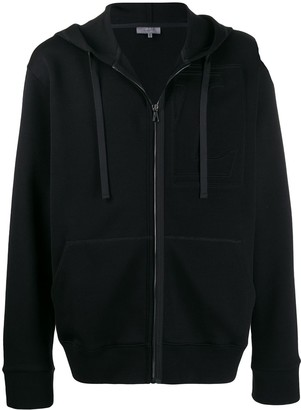 Lanvin logo embroidered hoodie
