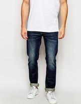 Blend of America Jeans Twister Slim Fit Stretch Washed Dark Wash