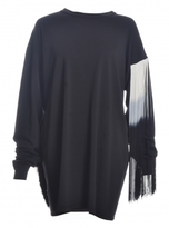 Aries FRINGED TEE DRESS