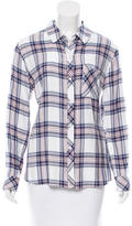 Rails Plaid Long Sleeve Top