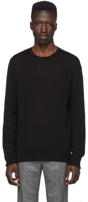 Neil Barrett Black Cashmere Travel Sweater