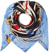 Polo Ralph Lauren Nautical Flag Silk Square Scarf Scarves