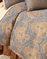 Isabella Collection Queen Lantana Duvet Cover
