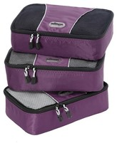 eBags Small Packing Cubes - 3pc Set (Eggplant)