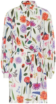 Baum und Pferdgarten Aubree floral cotton shirt dress