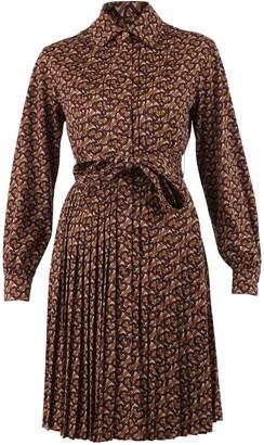 Burberry Monogram Print Dress