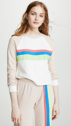 Wildfox Couture Beach House Cropped Sweatshirt