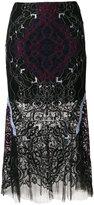 Jonathan Simkhai lace skirt - women - Silk/Cotton/Nylon/Polyester - 0