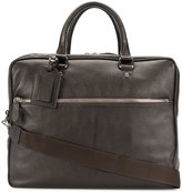 Eleventy zipped laptop bag - men - Leather - One Size