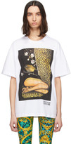 Versace White Couture Leopard T-Shirt