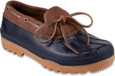 Sugar Navy & Cognac Duck Shoe