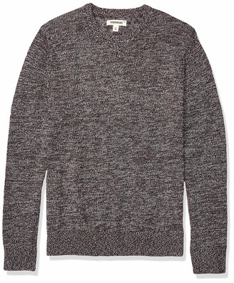 Goodthreads Amazon Brand Men's Supersoft Marled Crewneck Sweater