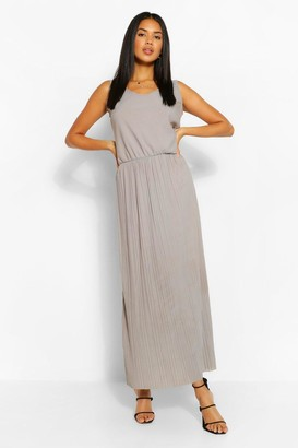 boohoo Waist Detail Maxi Dress
