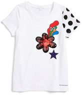 Burberry Toddler Girl's Marching Graphic Tee