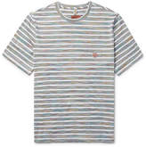 Missoni Mare Striped Space-dyed Cotton-jersey T-shirt - Multi